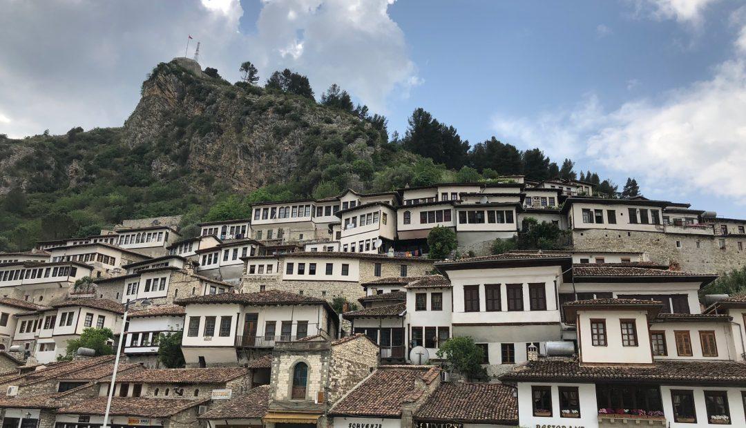 Town of a Thousand Windows Berat Albania