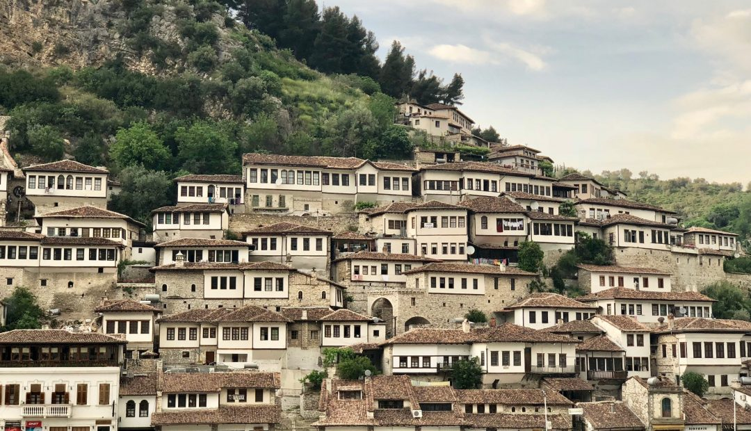 Berat Albania Town of a Thousand Windows
