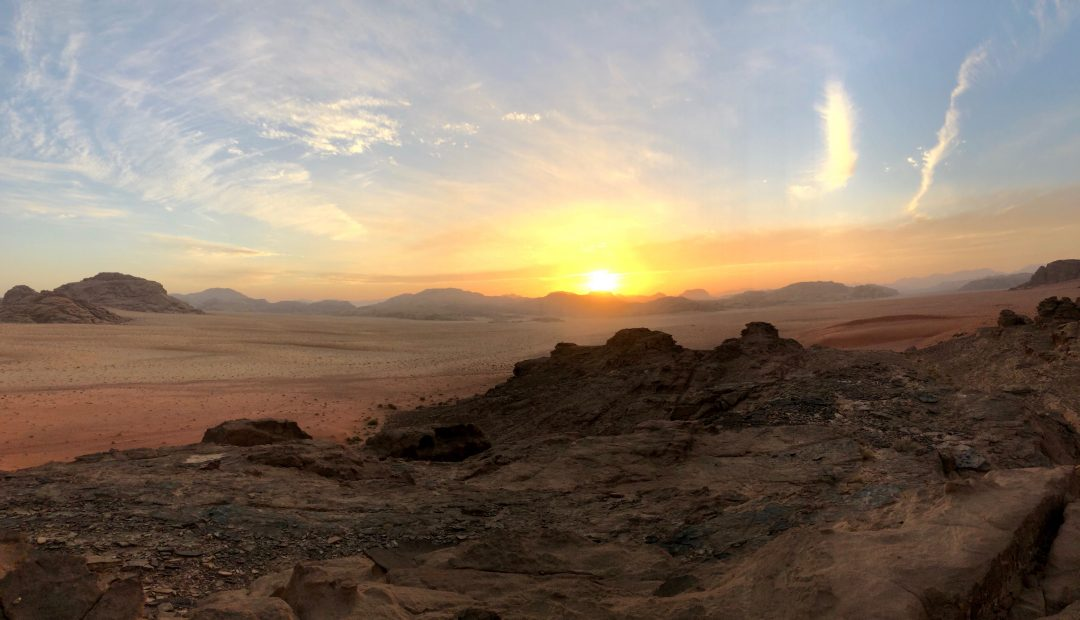 Sunset Wadi Musa Jordan Cheeky Universe