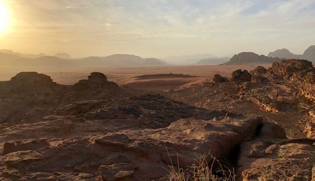Wadi Musa Jordan Sunset Cheeky Universe