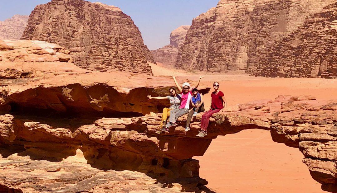 Wadi Musa Jordan chicks rule cheeky universe