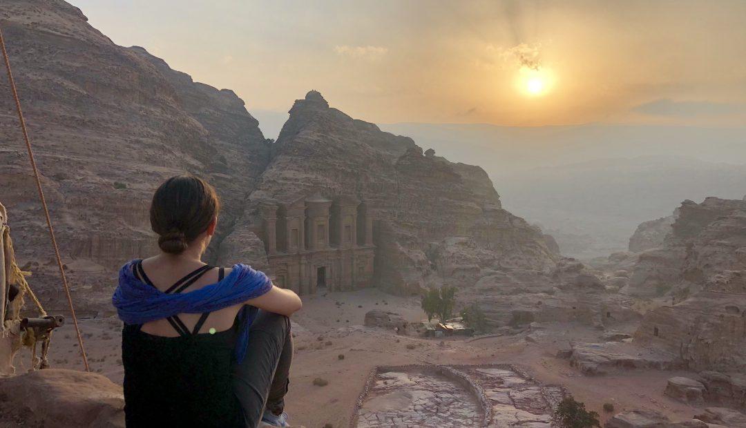 Sunrise, Petra, Jordan